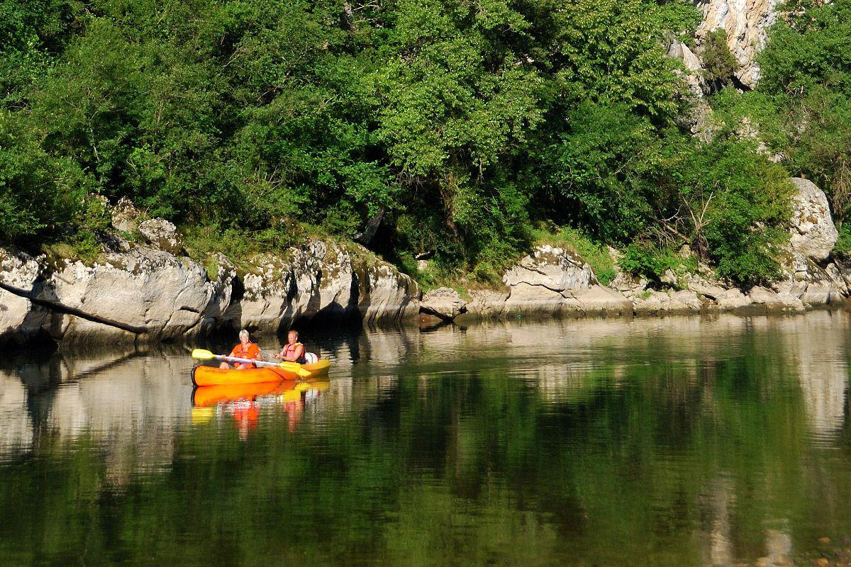Canoë sur l'Ardèche