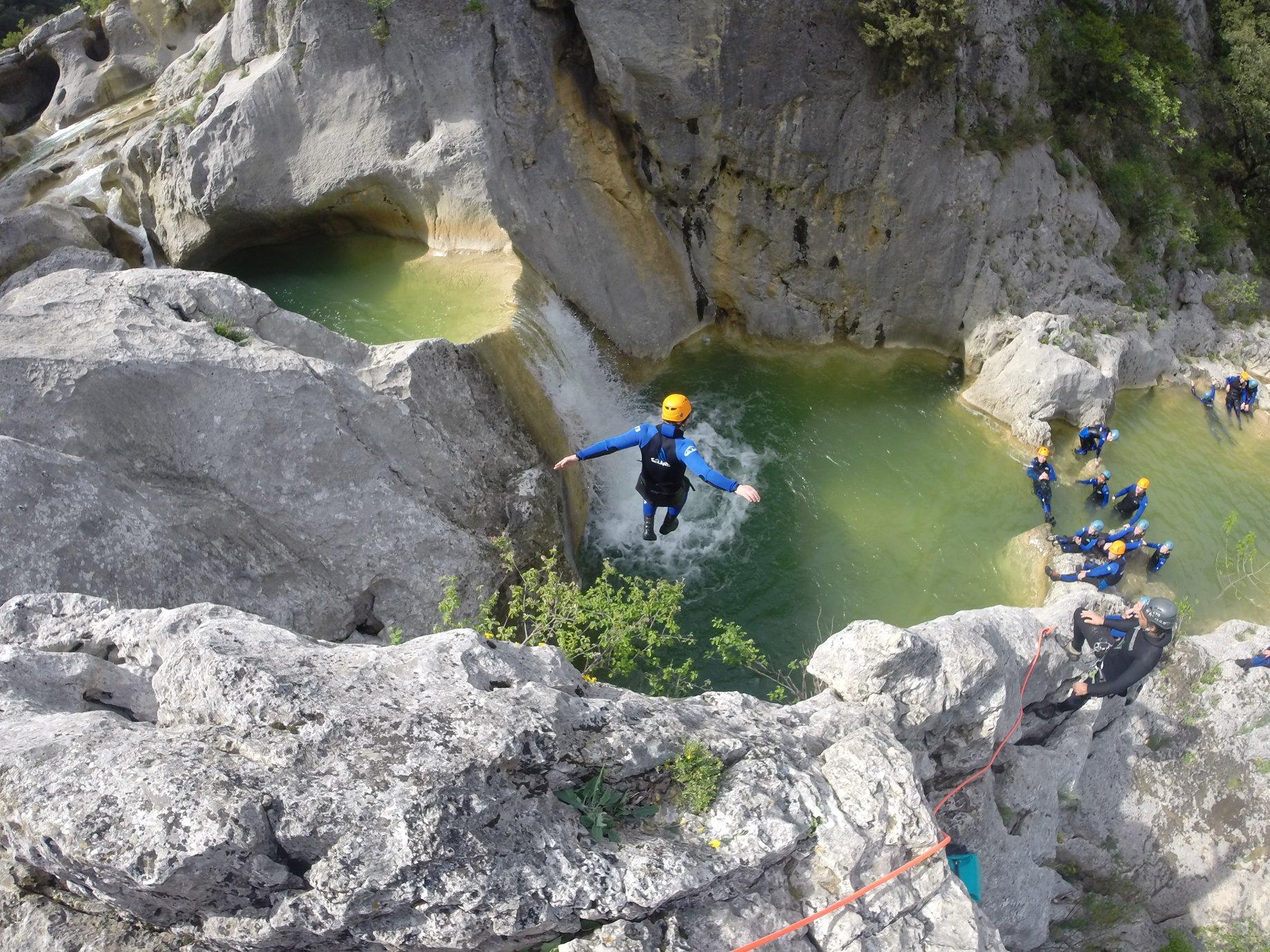 Activités de pleine nature, le Canyoning