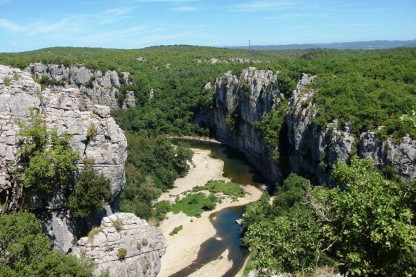 The Chassezac River Gorges